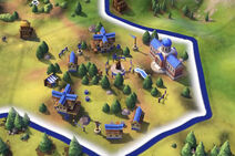 Civilization VI Screenshot Campus Stufe 2 Bibliothek
