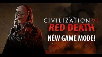 Civilization VI Red Death - New Game Mode (Battle Royale)