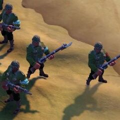 South American Infantry