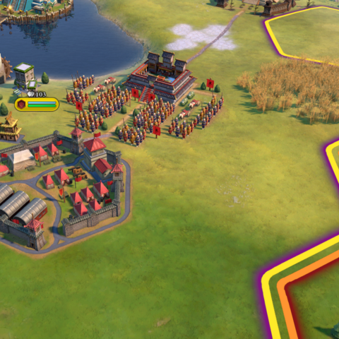 Terracotta Army in-game