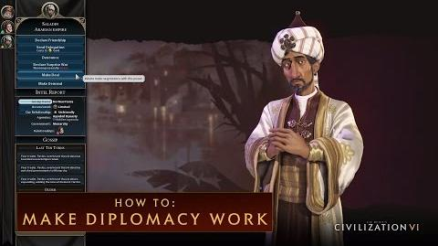 CIVILIZATION VI - How To Make Diplomacy Work