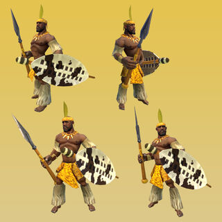The Impi, the Zulus' unique unit