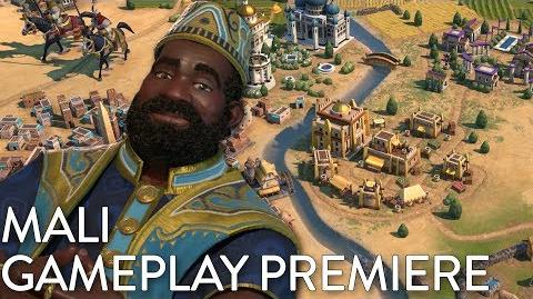 Civilization VI- Gathering Storm - Mali Gameplay Premiere (Dev Livestream)