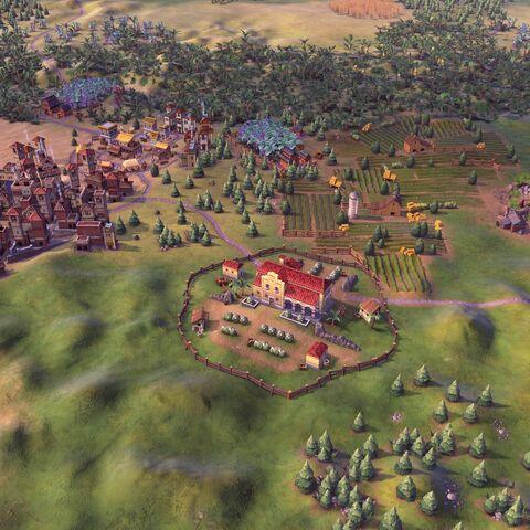 Hacienda in game