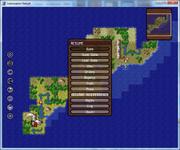 3 screen menu