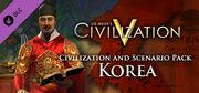Civilization and Scenario Pack Korea DLC (Civ5)