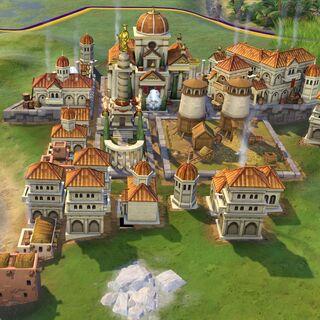Roman capital in Medieval Era