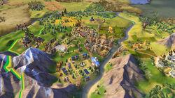 2KGMKT CivilizationVI Screenshot Preview Brazil 3Districts 02