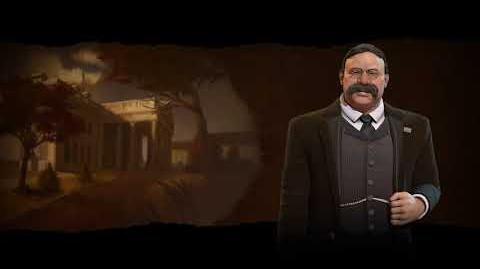 Civilization VI OST - America (Teddy Roosevelt) - Industrial Theme - Hard Times Come No More