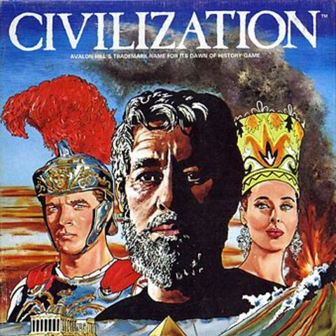 Box art for <i>Civilization</i> (1980)