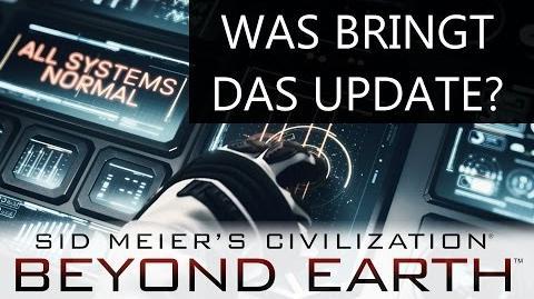 Writing Bull/Beyond Earth: Erstes großes Update