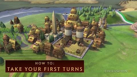CIVILIZATION VI – How To Take Your First Turns - International Version (With Subtitles)