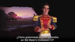 Civilization VI - New Frontier Pass - Simón Bolívar será el líder de Gran Colombia