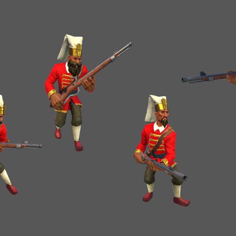 Janissary concept art/render