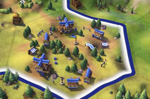 Civilization VI Screenshot Campus Stufe 1