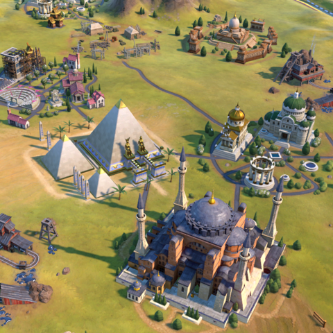 Pyramids in-game
