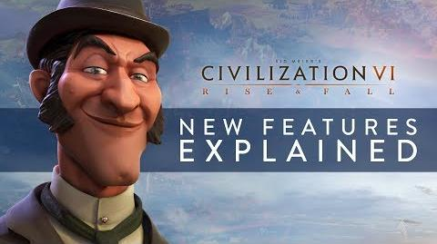 Civilization VI- Rise and Fall - New Features Explained (Full Details)