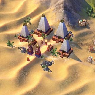 The Nubian Pyramid, Nubia's unique improvement