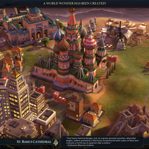 St. Basil's Cathedral completed