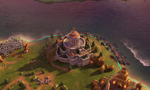 Civilization VI Screenshot Orakel Nacht