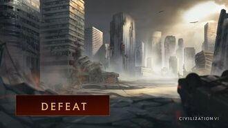 CIVILIZATION VI - Defeat