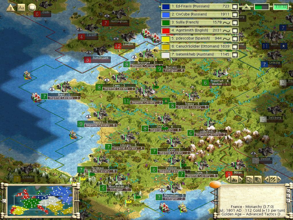 Napoleonic Wars (Civ3) | Civilization Wiki | FANDOM powered by Wikia