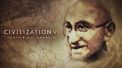 Tráiler del anuncio oficial de CIVILIZATION VI