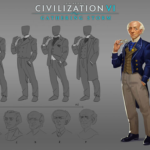 Concept art of Wilfrid Laurier