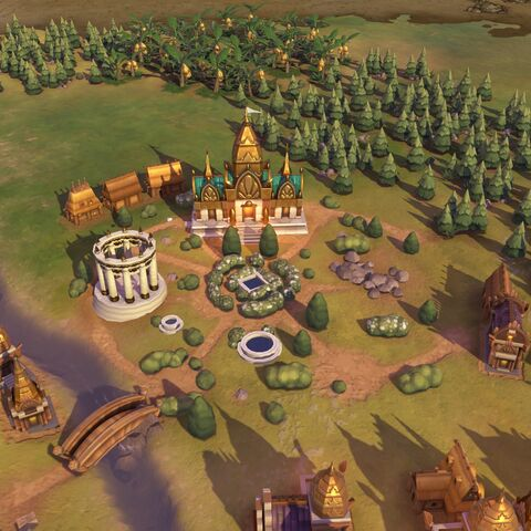 Prasat in game