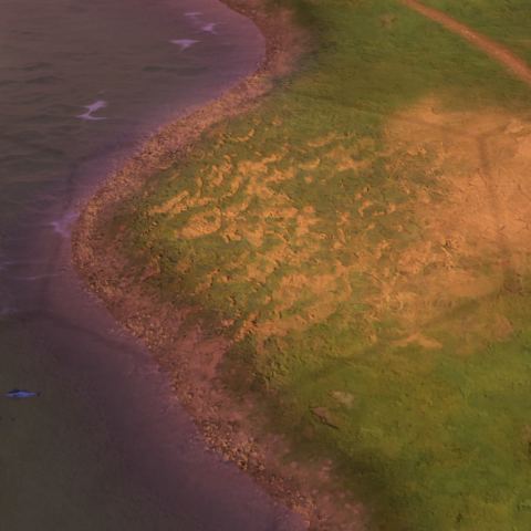 A Floodplains tile, as seen in-game