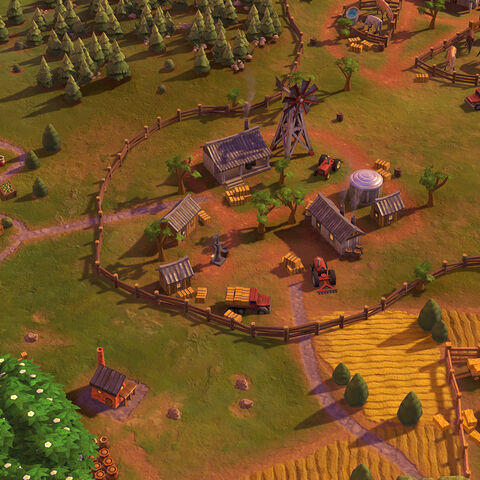 Outback Station in game