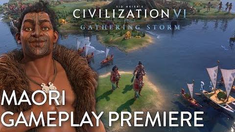 Civilization VI- Gathering Storm - Maori Gameplay Premiere (Dev Livestream)