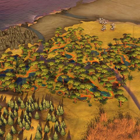 Kakadu, as seen in-game