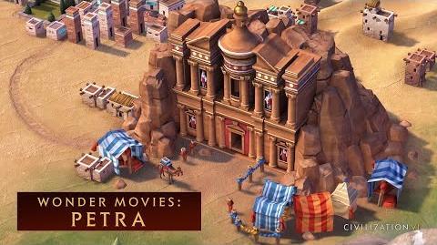 CIVILIZATION VI - Petra (Wonder Movies)