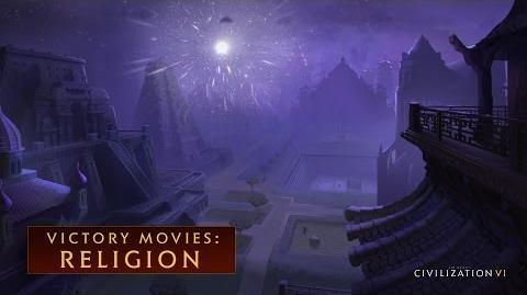 CIVILIZATION VI - Religion Win (Victory Movies)