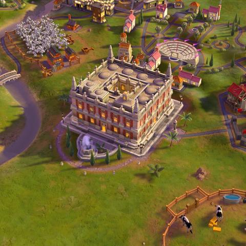 Casa de Contratación, as seen in-game
