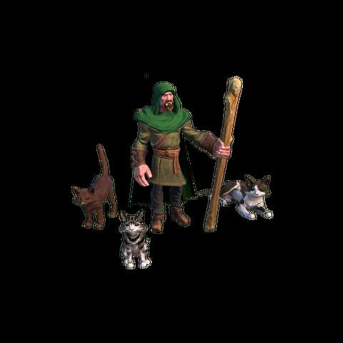 Scout Cat concept art/render