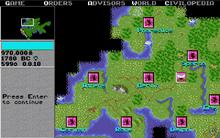 Game screen 3 (Civ1)