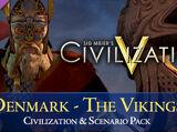 Civilization and Scenario Pack: Denmark - The Vikings (Civ5)