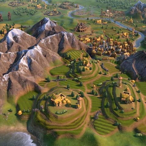 Terrace Farm in game