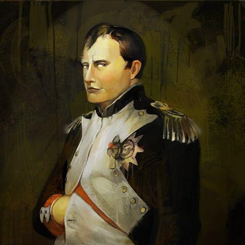 Concept art of Napoleon Bonaparte