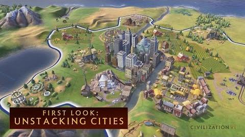 CIVILIZATION VI - First Look Unstacking Cities - International Version (With Subtitles)