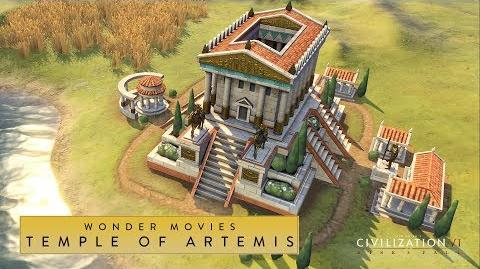 Civilization VI- Rise and Fall - Temple of Artemis (Wonder Movies)