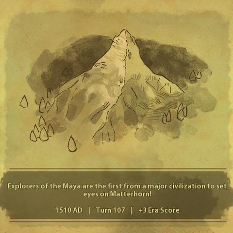 A civilization discovers Matterhorn