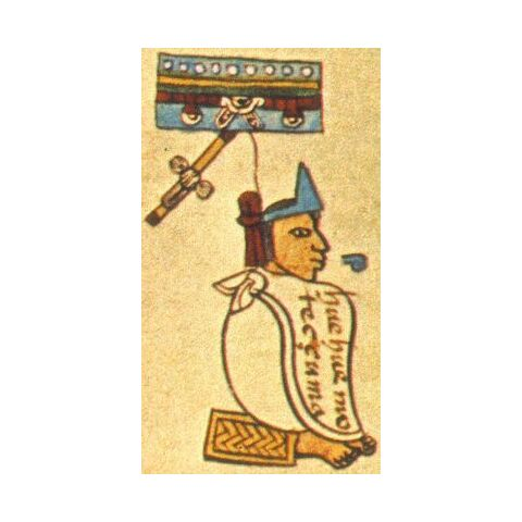 Montezuma in the Codex Mendoza