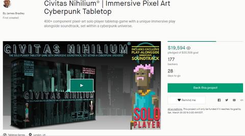 Kickstarterpage