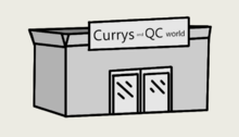 Currys and QC world