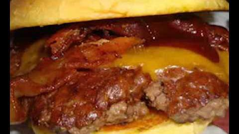 CREEPYPASTA Barbecue Bacon Cheeseburger