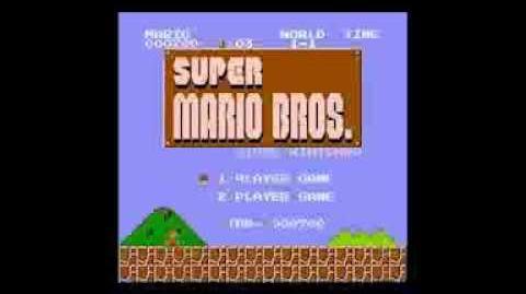Super Mario Falls into a Pit
