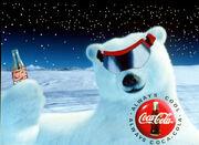 Polar bear ski goggles-White-Coke-Cans-Support-White-Polar-Bears